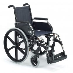 Rent self-propelled and attendant propelled manual wheelchairs Steel and aluminium wheelchairs