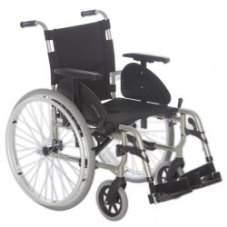 Aluminium wheelchair  , self-propelled