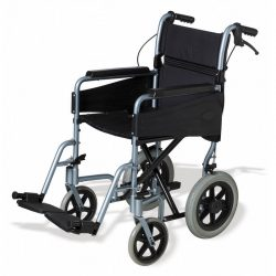 Aluminium wheelchair  , attendant propelled