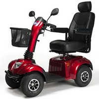 Deluxe XXL mobility scooter